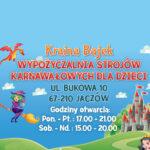 Kraina Bajek - Wypożyczalnia Strojów Karnawałowych dla dzieci Głogów